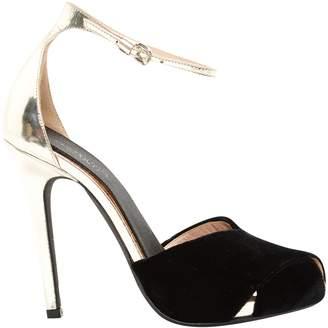 Giambattista Valli Black Velvet Heels