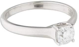 Tiffany & Co. Platinum Solitaire Diamond Ring $3,995 thestylecure.com