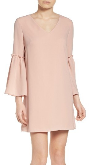 Women's Chelsea28 Ruffle Bell Sleeve Dress