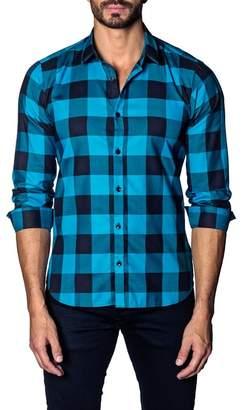 c86efc55978c07 Turquoise Plaid Shirt - ShopStyle