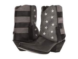 Durango Crush Fold Down Flag Boot