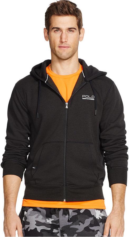 Polo Sport Men's Fleece Zip Up Hoodie
