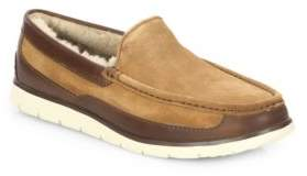 UGG Fascot Leather Blend Moccasins