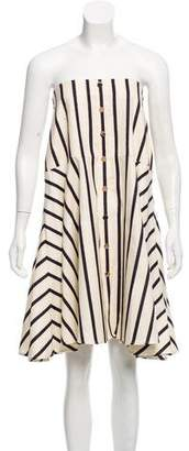 Veronica Beard Striped Strapless w/ Tags