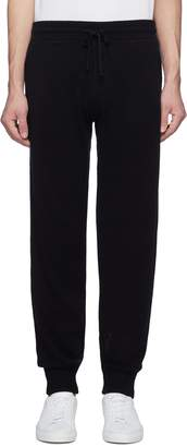 James Perse Baby cashmere knit track pants