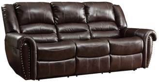 HomeVance Halesboro Double Reclining Sofa