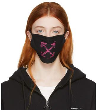 Off-White Off White Black Stencil Arrows Mask