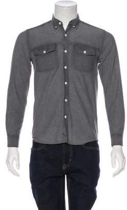 Saturdays New York City Woven Button-Up Shirt