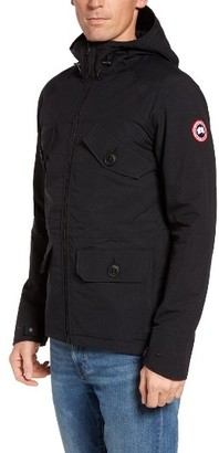 Men's Canada Goose Redstone Hooded Jacket $450 thestylecure.com