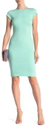 Love...Ady Cap Sleeve Bodycon Dress