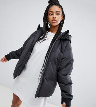 adidas Short Down Filled Jacket In Black