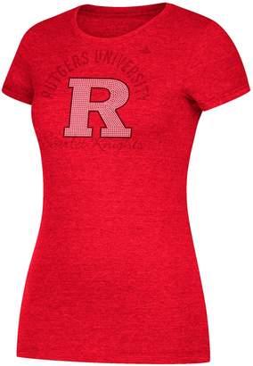 adidas Women's Rutgers Scarlet Knights Subtle Shine Tee