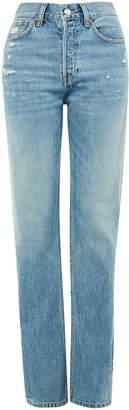 Topshop MOTO Distressed Boyfriend Nonstretch Jeans