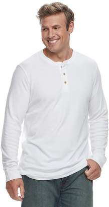 Croft & Barrow Big & Tall Classic-Fit Easy-Care Henley