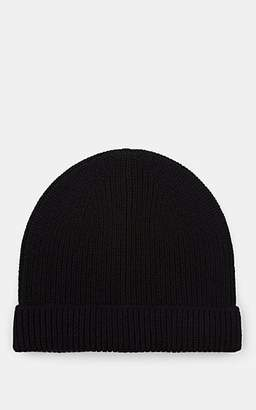 Barneys New York Men's Rib-Knit Wool-Cashmere Beanie - Black