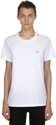 Burberry Logo Detail Cotton Jersey T-Shirt