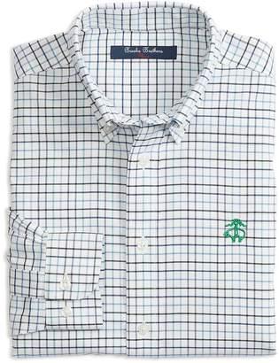 Brooks Brothers Boys' Non-Iron Oxford Check Shirt