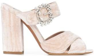 Tabitha Simmons embellished mules