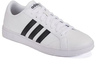Adidas NEO Baseline Women's Bicast-Leather Sneakers $64.99 thestylecure.com