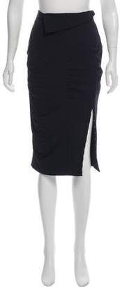 Altuzarra Ruched Knee-Length Skirt w/ Tags
