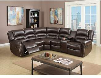 Co Darby Home Finck Reclining Corner Sectional