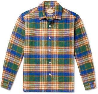 Bellerose Goney Checked Cotton-Flannel Shirt