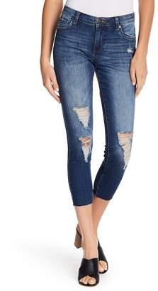 STS Blue Piper Crop Raw Hem Jeans