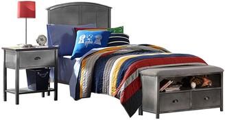 Hillsdale Furniture Urban Quarters Full Bed & Storage Bench 2-piece Set