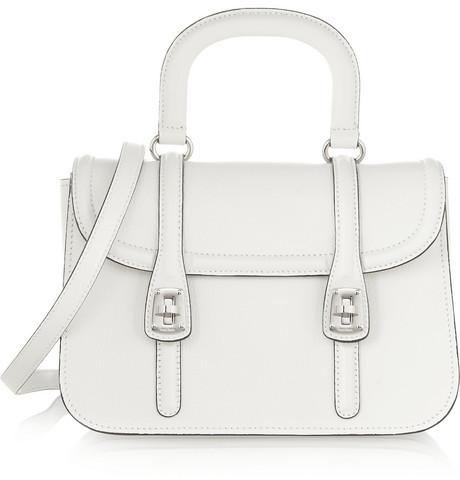 Miu Miu Madras leather shoulder bag