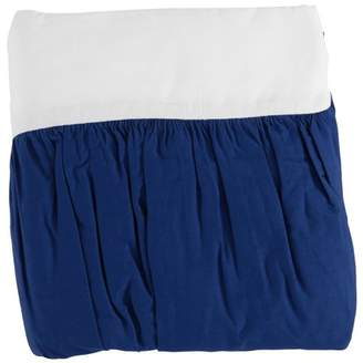 Tl Care Inc TL Care 100% Natural Cotton Percale Crib Bed Skirt, Royal, Soft Breathable, for Boys
