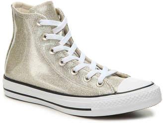 fd3aaa1a147 Converse Chuck Taylor All Star Glitter High-Top Sneaker - Women s