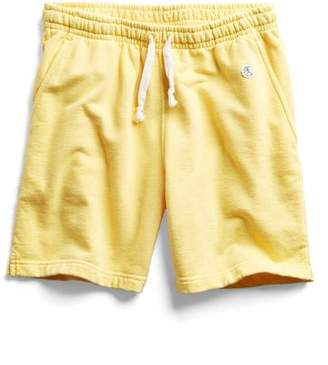 Todd Snyder + Champion Warm Up Short in Yellow