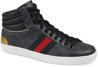 Gucci New Ace High GG Supreme Sneaker