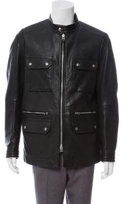 Tom Ford Leather Field Jacket