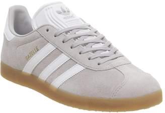 c9fc025a adidas Gazelle Trainers Grey Two White Gum
