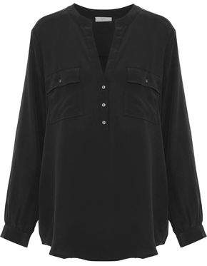 Joie Pauline Washed-Silk Shirt