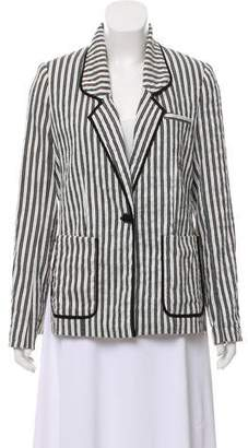 Yigal Azrouel Striped Structured Blazer w/ Tags