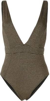 SUBOO Nadia striped swimsuit