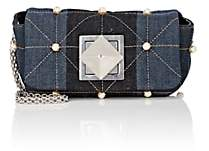 Sonia Rykiel Women's Le Copain Small Denim Chain Shoulder Bag - Blue
