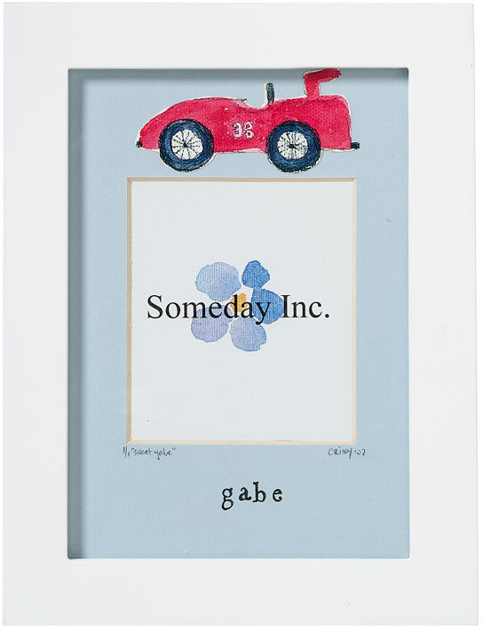 Someday Inc. Watercolor Inspired Personalized Frame
