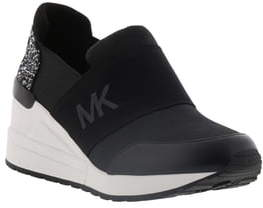 MICHAEL Michael Kors Neo Flakes Glitter Wedge Sneaker