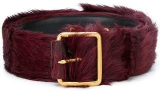 Prada appliqué buckle belt