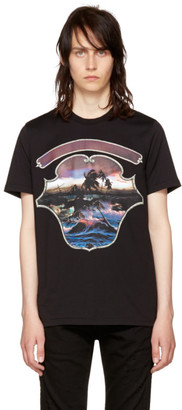 Givenchy Black Dark Hawaii T-Shirt $440 thestylecure.com