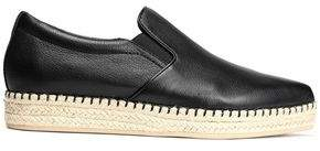 DKNY Leather Espadrille Sneakers