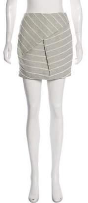 Christian Wijnants Woven Mini Skirt