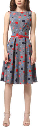 DAY Birger et Mikkelsen Lila Kass Silk-Blend A-Line Dress