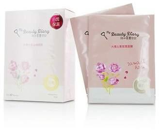 NEW My Beauty Diary Mask - Damask Rose (Lightening & Hydrating) 8pcs Womens Skin