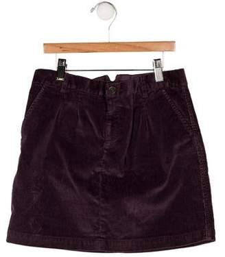 Burberry Girls' Corduroy Mini Skirt