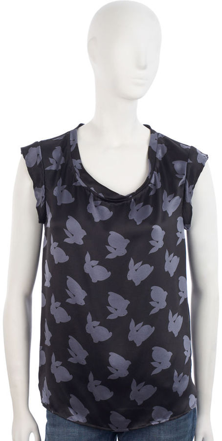 3.1 Phillip Lim Rabbit Muscle Tee - Slate