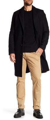 Vince Mid-Length Solid Overcoat